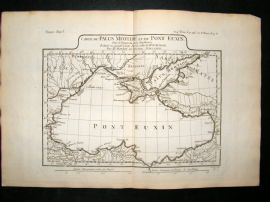 Barthelemy 1790 Antique Map Black Sea, Turkey, Ukraine, etc